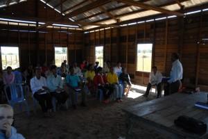 The congregation at Varin