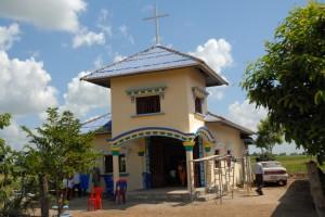 The Meetinghouse at KomReang, Battambong Province