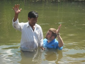 Baptism of Brother Kong