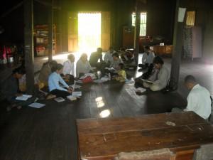 Fellowship Meeting in Suong, Kampong Cham
