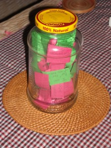 Jar of Thanks Giving